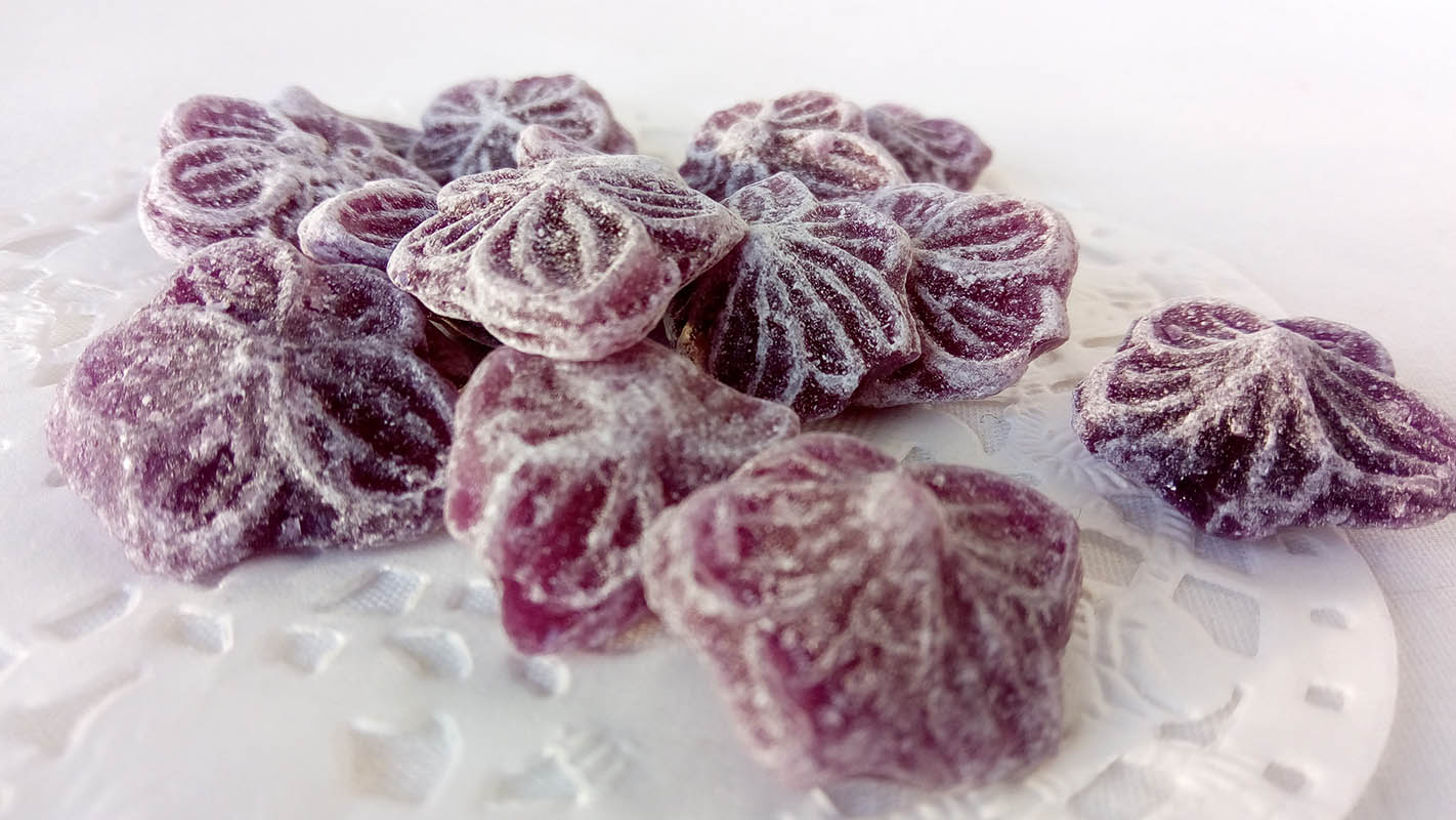 bonbons-violette